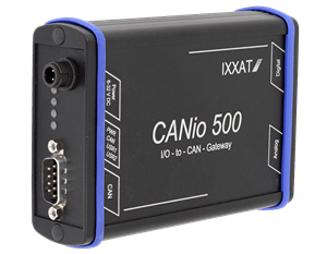 CANio500 CAN to analog/digital Gateway