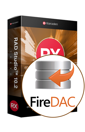 FireDAC C/S Add-On Pack for RAD Studio 10.2 Professional